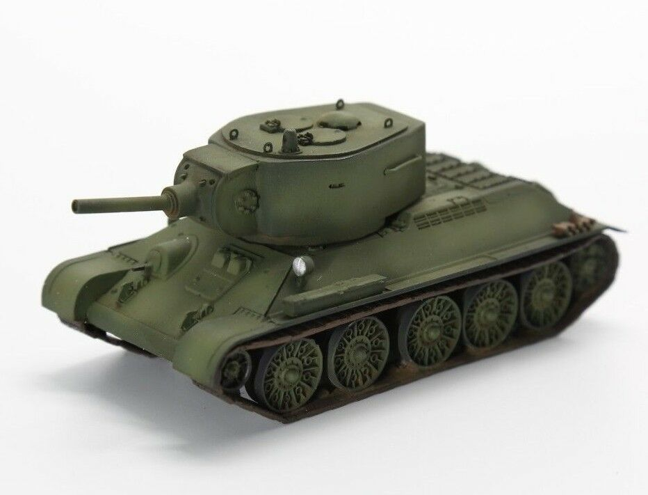 1 72 T-34 mit D-11 howitzer turret Tank Assembled Finished Model by 5M Hobby