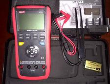Handheld Lcr Meter 10khz Cap Ohm Induct L C R Dcr Q D Theta Esr Tester Ut611