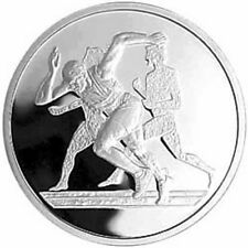 RUNNING (ATHLETICS) - ATHENS 2004 OLYMPIC GAMES SILVER COIN