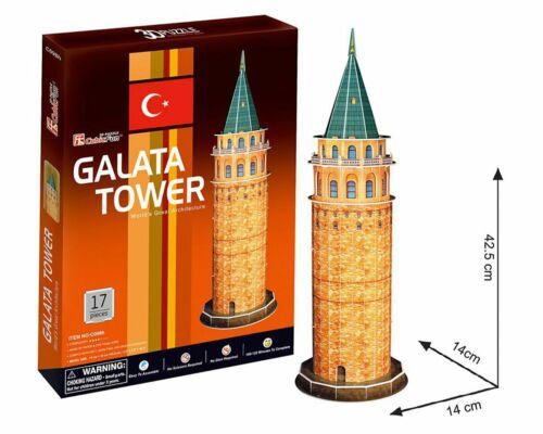 CubicFun GALATA TURM GALATA TOWER 3D Puzzle NEW