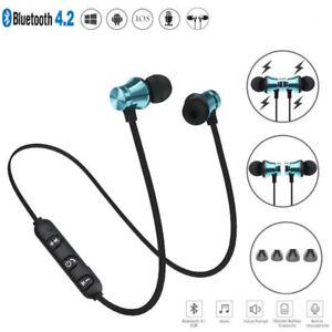 Caricamento dell immagine in corso Auricolari-Cuffie-wireless-sport- Bluetooth-4-2-stereo- 14500451d831