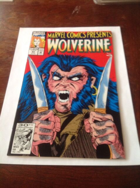 Wolverine #93 (1991, Marvel Comics) Nice Shape For The Age