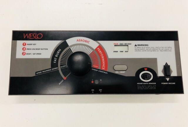 Weslo cadence 1005 manuals.