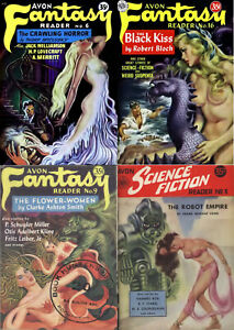 24 OLD ISSUES OF FANTASY SCIENCE FICTION HORROR THRILLER SEXY MAGAZINE ON DVD