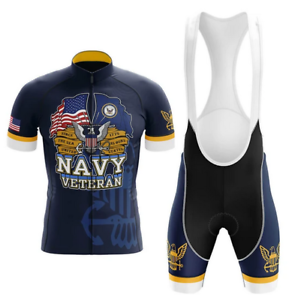 U.S Navy Veteran Novelty Cycling Kit
