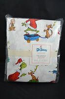 Pottery Barn Kids Dr. Seuss The Grinch & Max Flannel Sheet Set Full 6