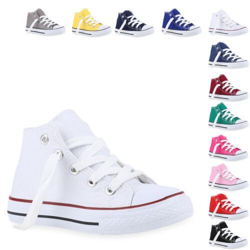 Kinder Damen Herren Turnschuhe Sneakers Schnürschuhe High Top 816756 Mode