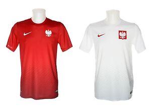 df0f474f42a Lewandowski 9 NAME suppoters NIKE POLAND Jersey mens T-shirt Polish ...