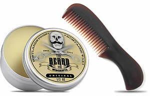Portlands-Finest-Moustache-Wax-amp-Pocket-Beard-Comb-The-Beard-and-The-Wonderful