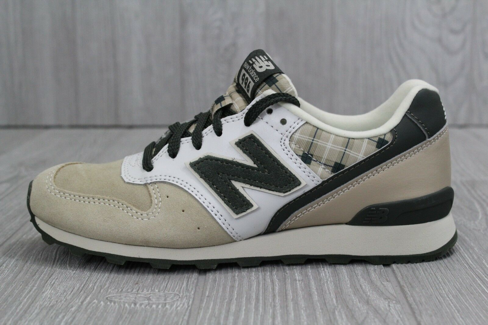 29 New Balance 996 WR996TP D Beige Green Green Green Suede Womens Retro Running shoes Size 6 afcd9a