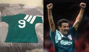 Vintage Liverpool Shirt 1992-93 Centenary Rush 9 Original Retro Excellent (XL)
