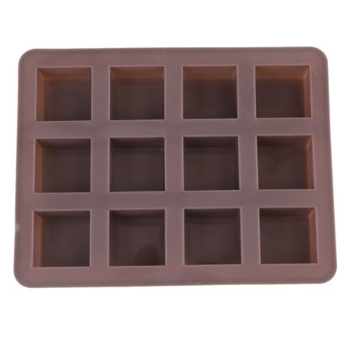Silicone Cake Chocolate Cookies Baking Mould Ice Cube Soap Mold Tray Kitchen Use
