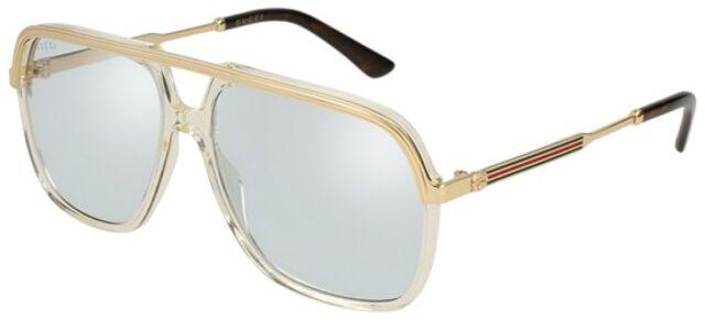 5e5e8fd13d3 Gucci GG 0200s Sunglasses 005 Yellow 100 Authentic for sale online ...