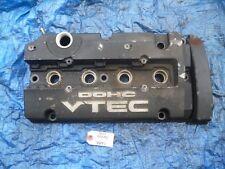92-01 Honda Prelude H22 valve cover engine motor H22A H22A4 VTEC black OEM 2