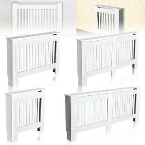 Radiator-Cover-White-Painted-Traditional-Cabinet-MDF-Wood-Furniture-Grill-Modern