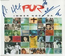 "Pur Autogramme signed CD-Cover ""Immer Noch Da"""