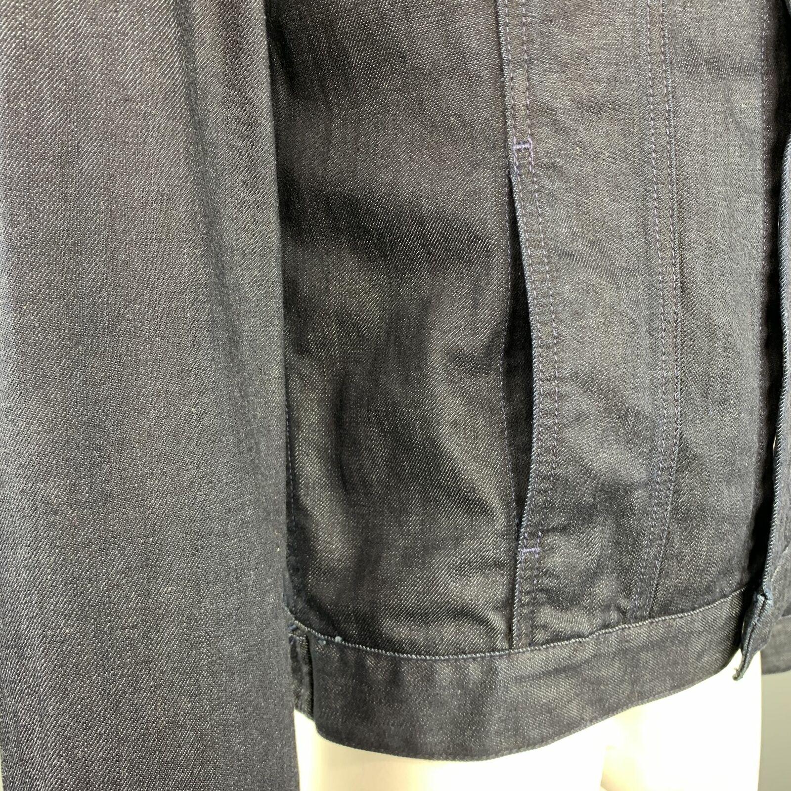 ADRIANO GOLDSCHMIED Size L Indigo Denim Cotton Sn… - image 3