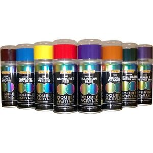 Hycote 150ml Double Acrylic Spray Paint For Ford Sunset Ebay