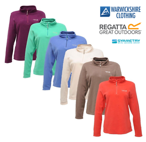 Regatta-Womens-Ladies-Sweethart-Half-Zip-Micro-Fleece