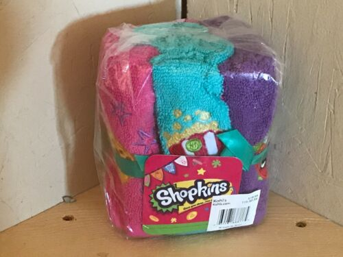 Brand New Free Shipping. Shopkins Washclothes
