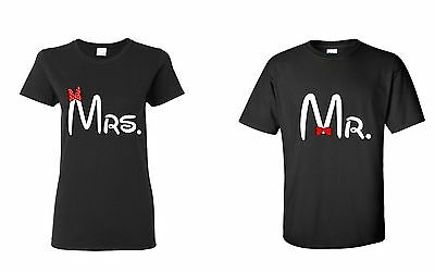 Couple T-Shirt -  Mr and Mrs Couple Shirt - Mr and Mrs Matching Tee Shirts