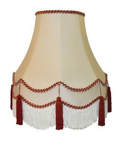 Cream terracotta fabric lampshades wall lights table floor standard image is loading cream terracotta fabric lampshades wall lights table floor aloadofball Image collections