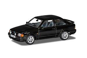 1:43 FORD ESCORT Mk4 RS Turbo or XR3i model car black red CORGI VA14301 VA14302