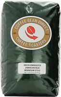 Green Unroasted Jamaican Blue Mountain Style, Whole Bean Coffee, 5-pound Bag , N