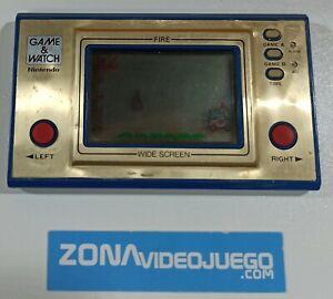 Juego electronico LCD, Game & Watch Fire Fr-27. NO FUNCIONA. SIN GARANTIA