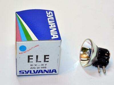 Sylvania ELE ELT 30V 80W Halogen Projector Lamp Bulb ELE//ELT New Old Stock
