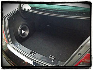 Details about Mercedes c class w204 Sound upgrade speaker sub 12 10 OEM  stealth side enclosure