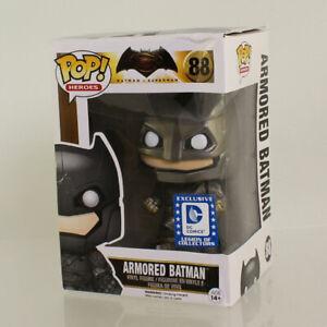 Funko-POP-Batman-v-Superman-DC-Legion-of-Collectors-ARMORED-BATMAN-88-NM