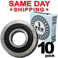 Fr8 2rs Flanged Rubber Sealed Ball Bearing 12x1 18x516 Fr8rs 10 Qty