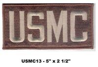 Usmc Letters - Desert Camo Colors Patch - Usmc13