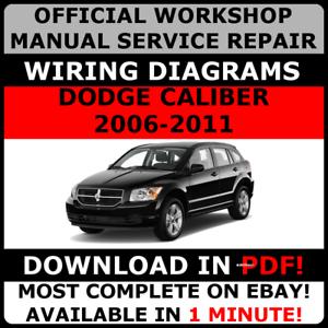 image is loading official-workshop-service-repair-manual-dodge-caliber-2006-