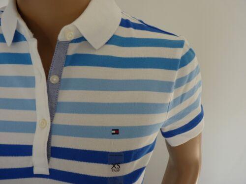 New Tommy Hilfiger Women Polo Shirt Classic Fit  Short Sleeve XS  S  M  L XL