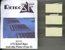 RetroKits Models 1/72 REBEL BASE ANTI-SLIP PLATES TYPE 2 (3) Star Wars