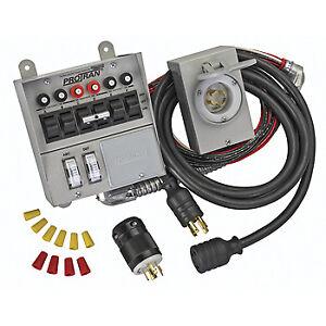 reliance controls 3006hdk 6 circuit generator power transfer switch rh ebay com