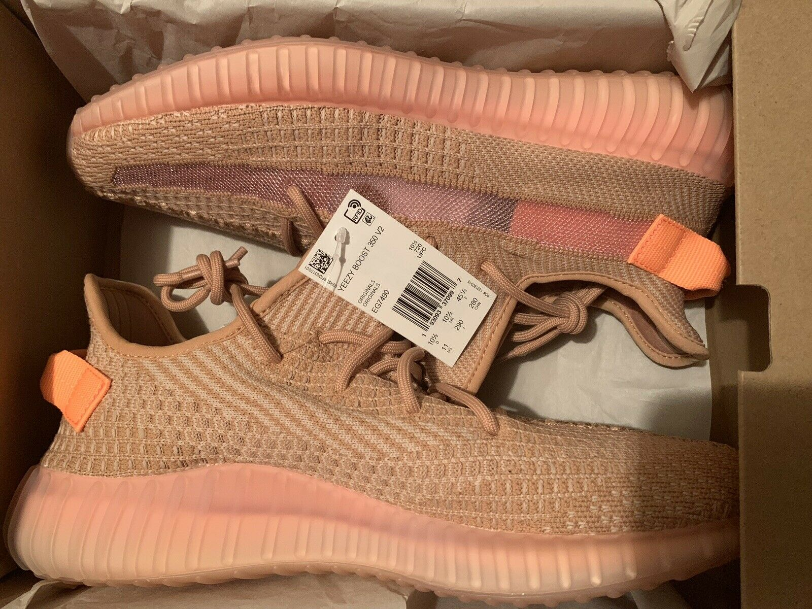 """Yeezy Boost 350 v2 """"Clay"""" Size 13"""