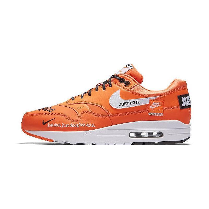 Nike air max 1 premium - tun sie es einfach einfach einfach jdi x orange cremefarbene virgil abloh männer 14. a9123c