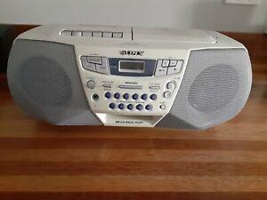 VTG SONY CFD-S22 AM/FM CD PLAYER CASSETTE PLAYER/ RECORDER BOOMBOX MEGA BASS