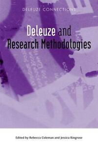 Deleuze-and-Research-Methodologies-Deleuze-Connections-by-NEW-Book-FREE-amp-F