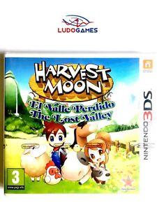 Harvest-Moon-Valle-Perdido-3DS-Nintendo-Precintado-Nuevo-Videojuego-Retro-Sealed