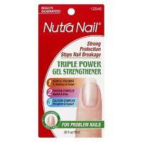 Nutra Nail Triple Power Gel Strengthener 0.50 Oz (pack Of 4) on sale