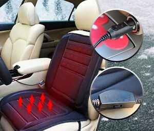 Universal-12-V-voiture-siege-pad-coussin-Couverture-Chauffage-Chauffage-Chaud-Chauffe-froid-hiver