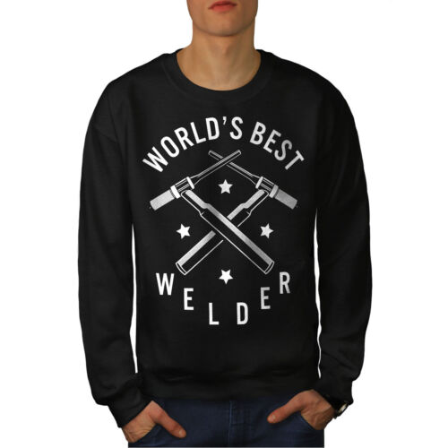 da Black Felpa Worlds Best uomo Welder New 8wwq4dS