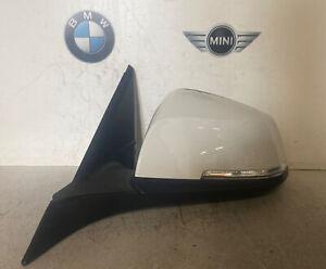 Genuine BMW 1 Series F21 Lci Se Passenger Side Wing Mirror 6 Pin White