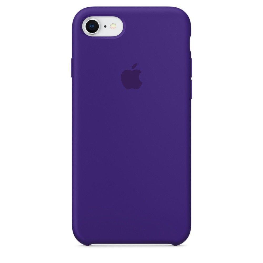 Original Silicone/Leather Case For iPhone X XS Max 6 7 8 Plus Genuine OEM Cover