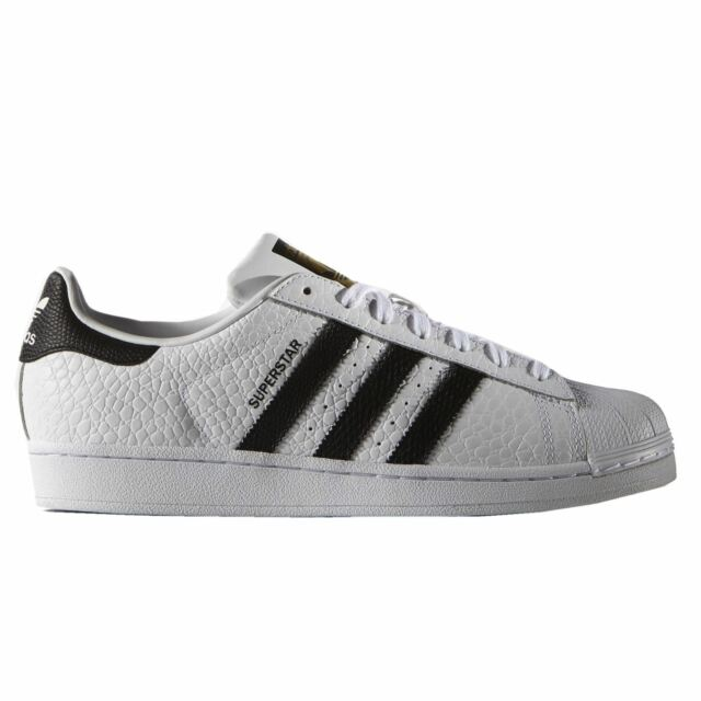 Adidas Superstar Animal White Black Mens Trainers