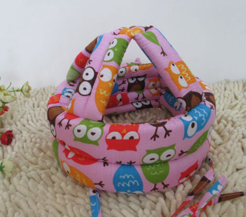 Baby Toddler Infants No Bumps Safe Warm Cap//Hat Helmet Headguard Protect TKVX